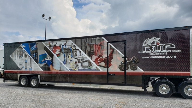 AlabamaRTP Mobile Robotic Training Lab Get a Revamp